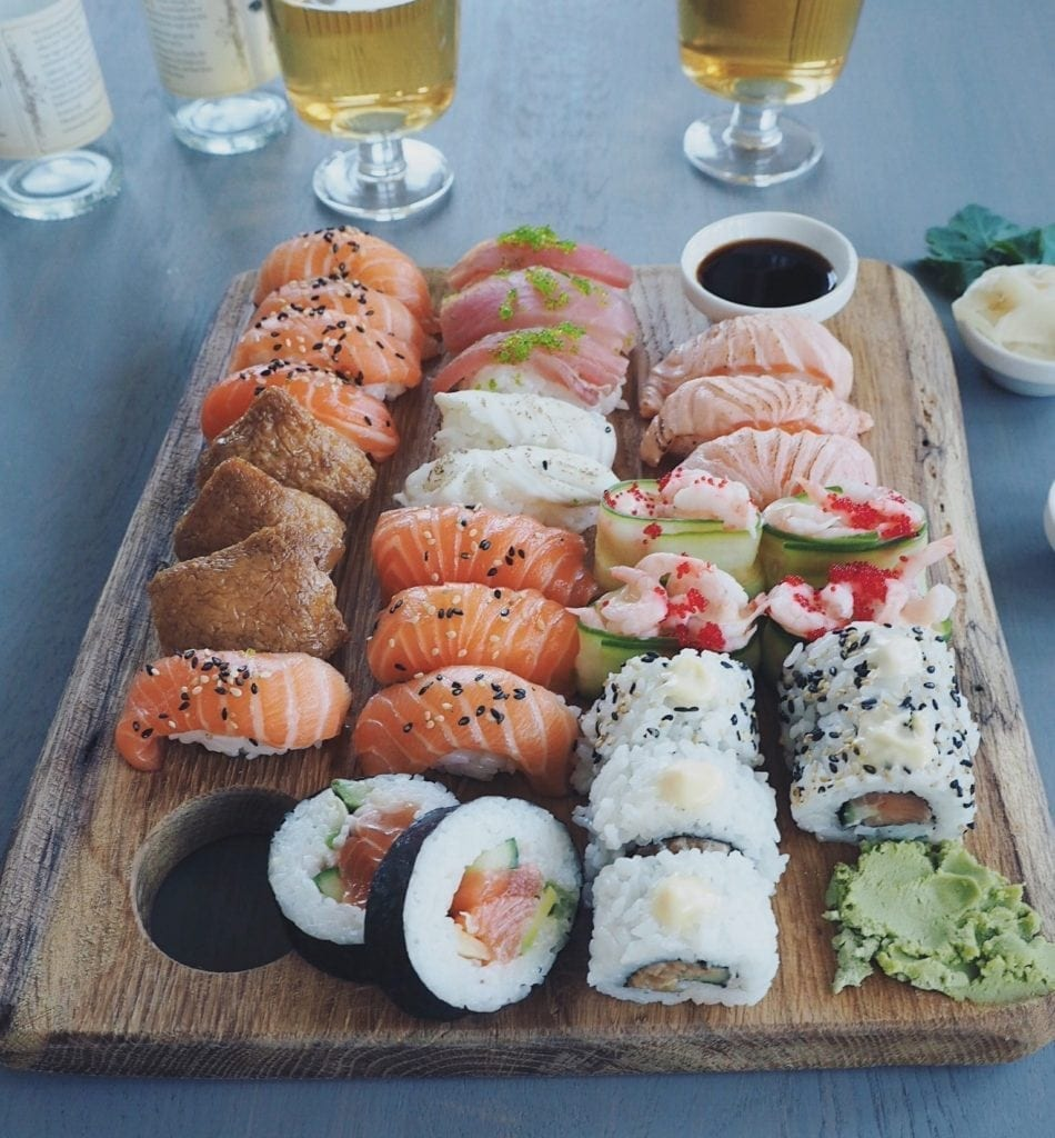 Here you can find completely new sushi on Wednesdays and Fridays