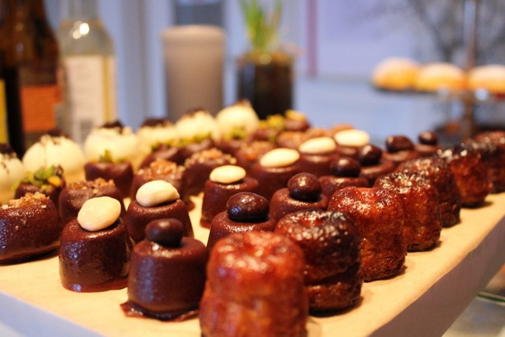 small pastries with flavor