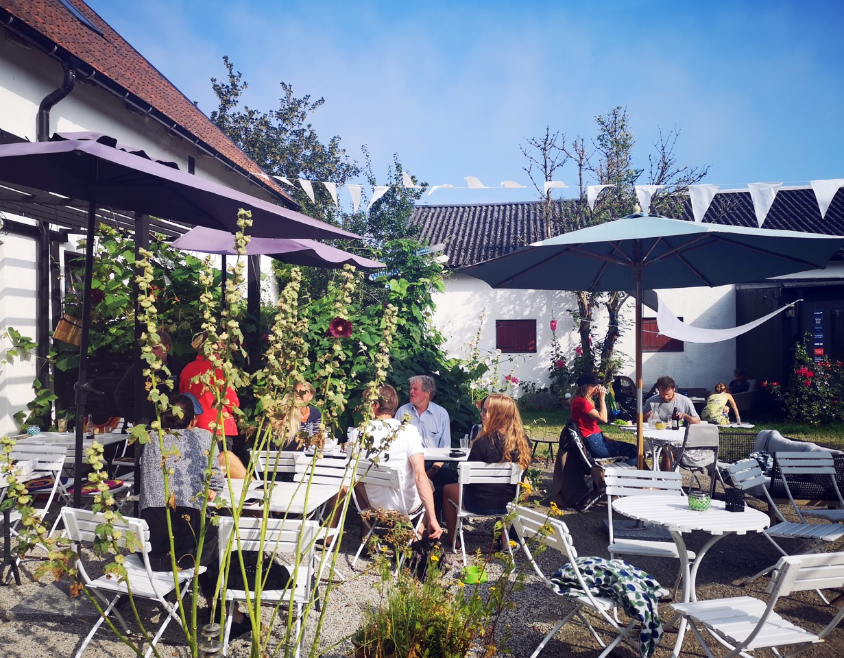 Skillinge Teater Garden Cafe österlen.se