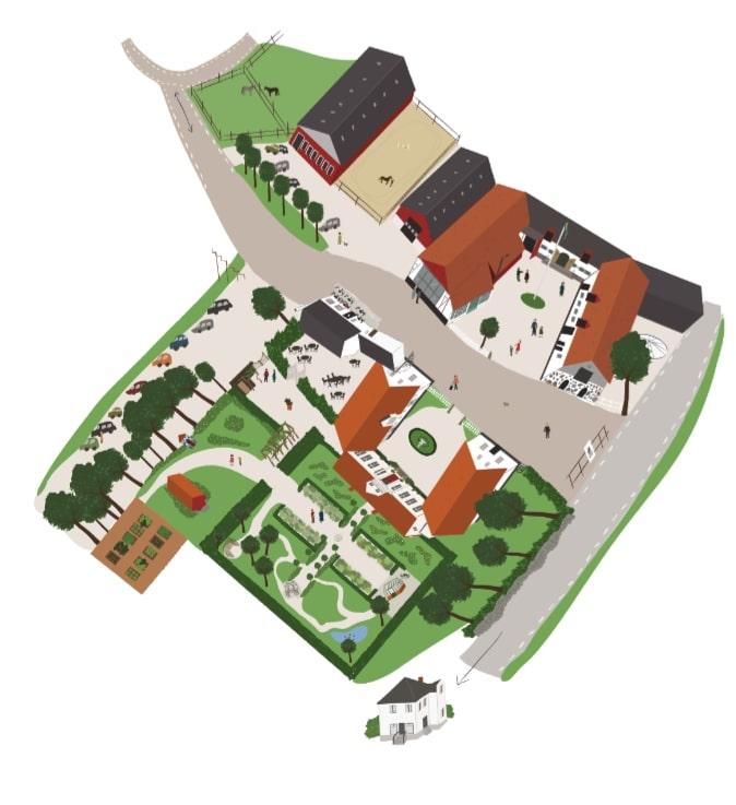Svabesholm's royal estate