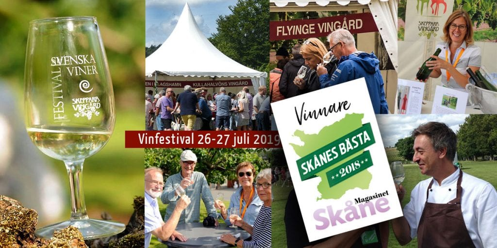 Skepparps Wine Festival in a wonderful summer environment!