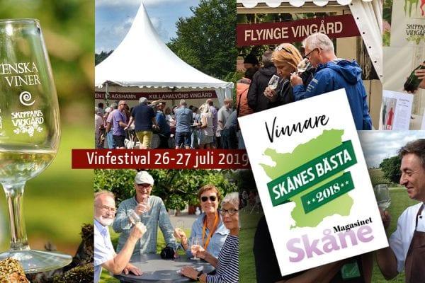 Skepparps Vinfestival i underbar sommarmiljö!