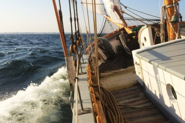 Eftermiddagssegling med segelskutan Klara Marie på Skillinge
