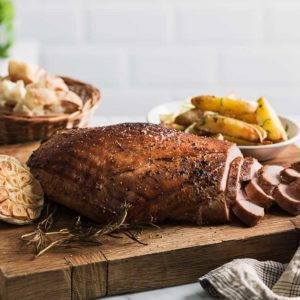 Whiskey marinated turkey breast österlen.se