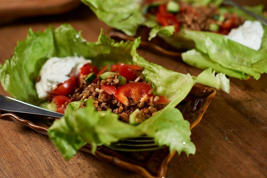 useful ida recipes - TACO IN SALAD CLIP WITH HERB SEA