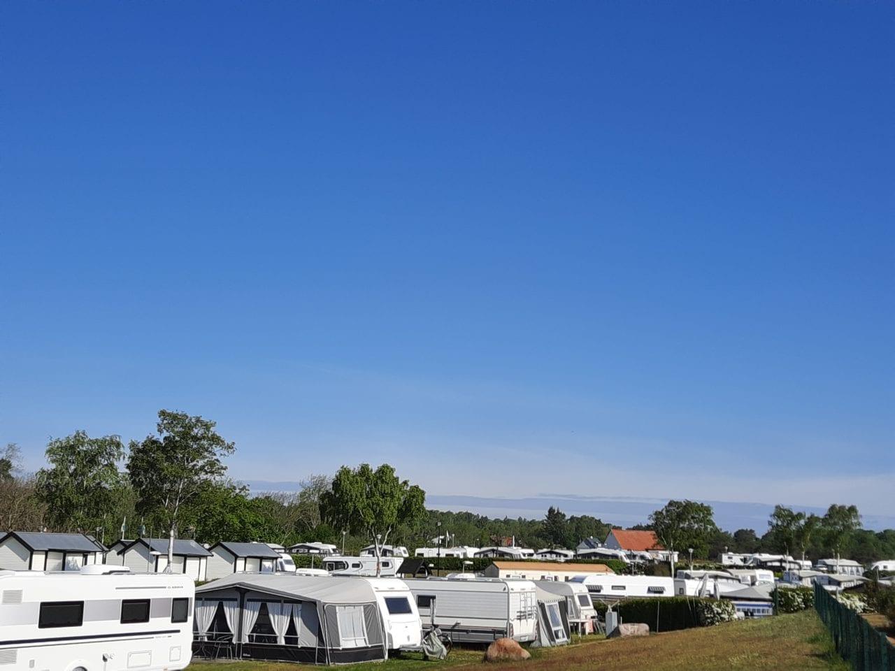 Tobisvik, Österlen, Camping