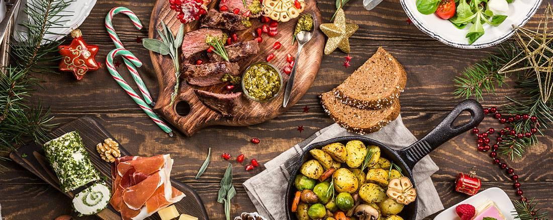 Julbord på Kiviks Musteri
