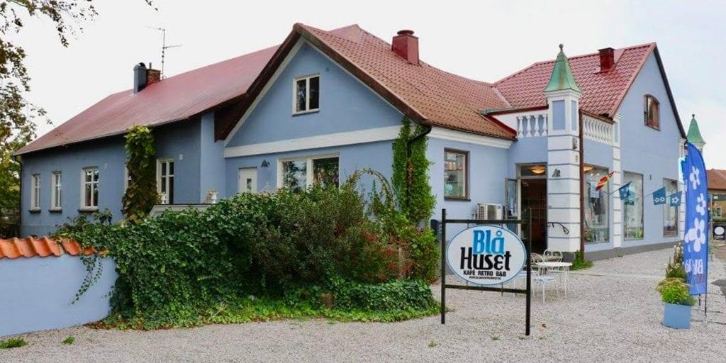 Blue House in Borrby