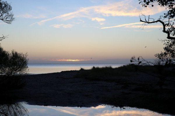 soluppgang over havang österlen.se
