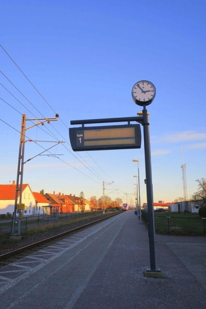 Med tåget kommer man långt.