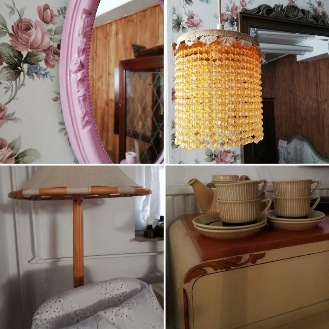 Vintage Corner shop decor