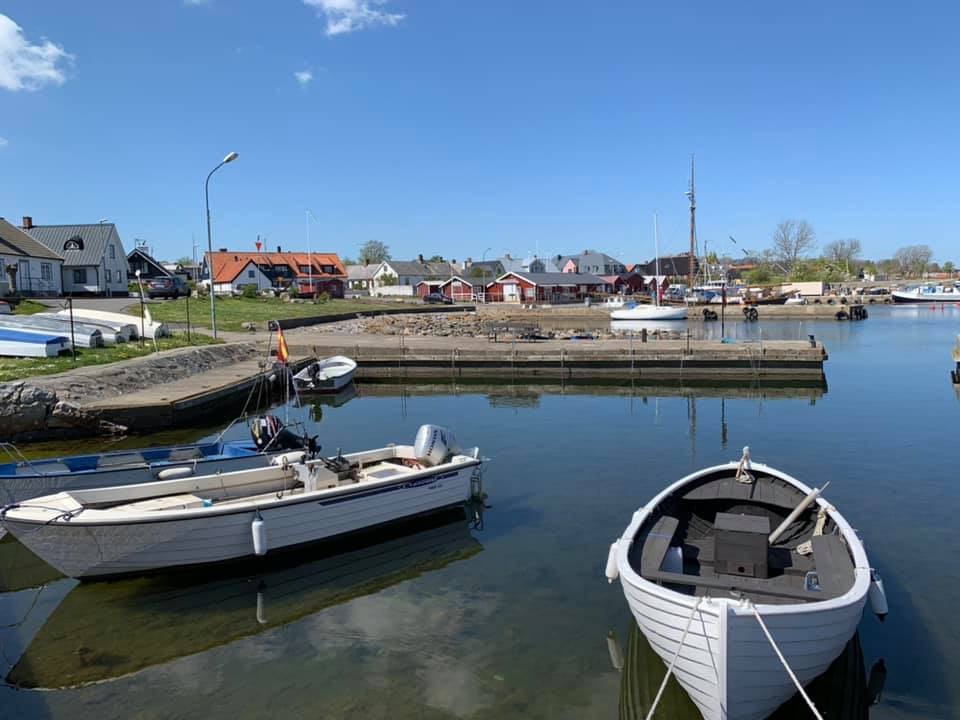 Brantevik Southern harbor from the pier, 3 min from the concert venue, Brantevik's IP Photo BMNorelius 2018