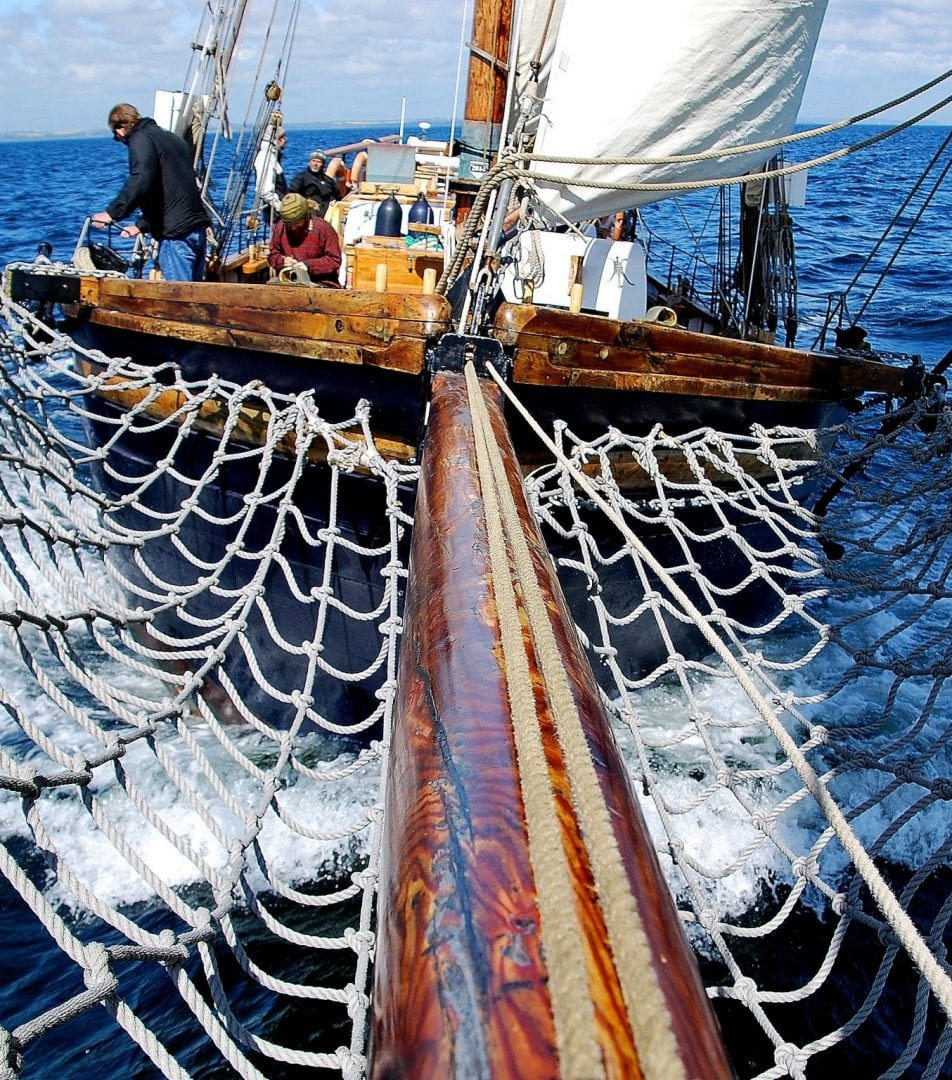 The hope of Brantevik Hunting Sailing Ship