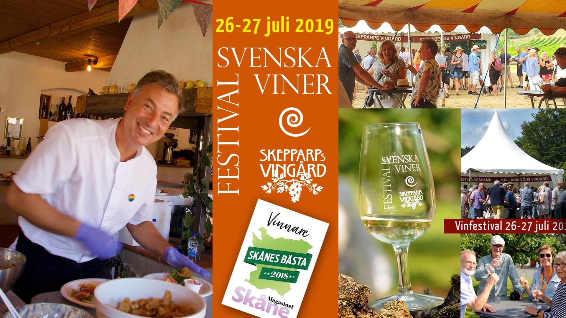 Vinfestivalen 2019 Skepparps Vingård