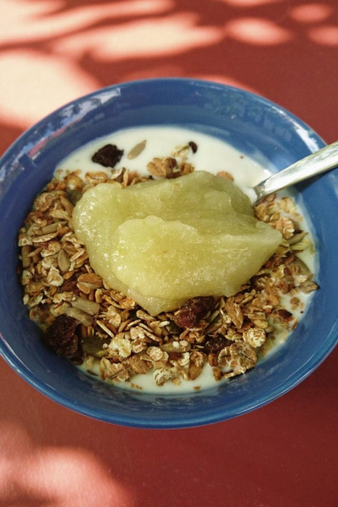 Frukost på STF Brantevik Råkulle Vandrarhem
