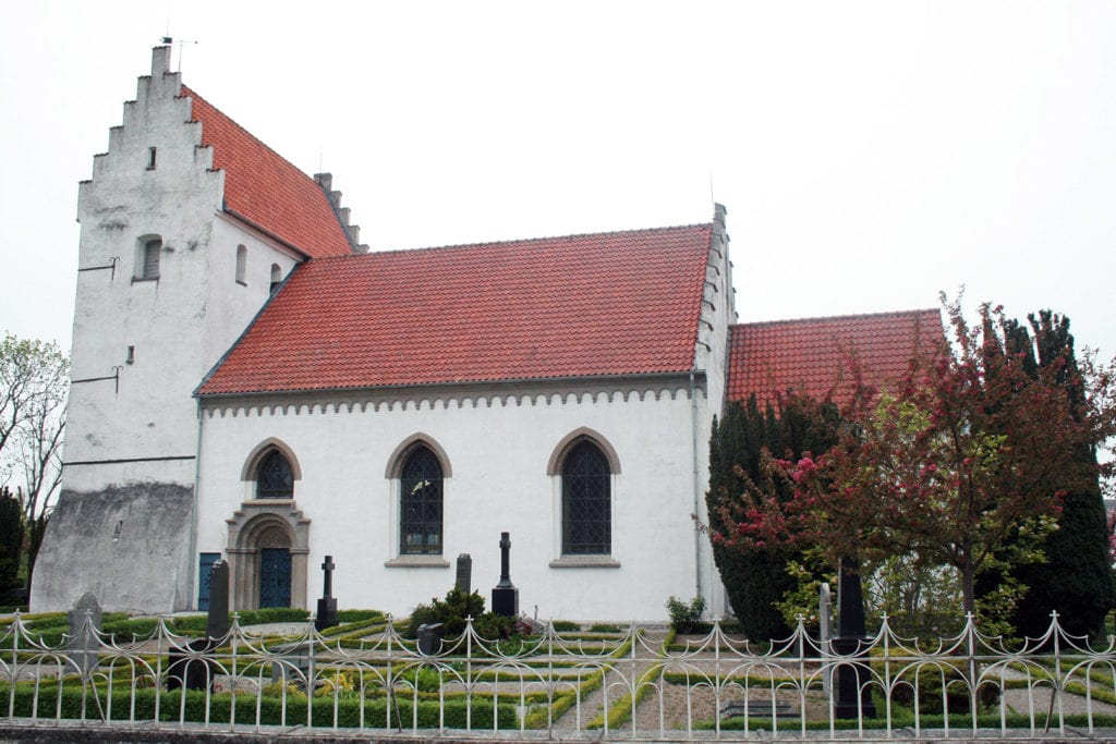 Simris church in Österlen