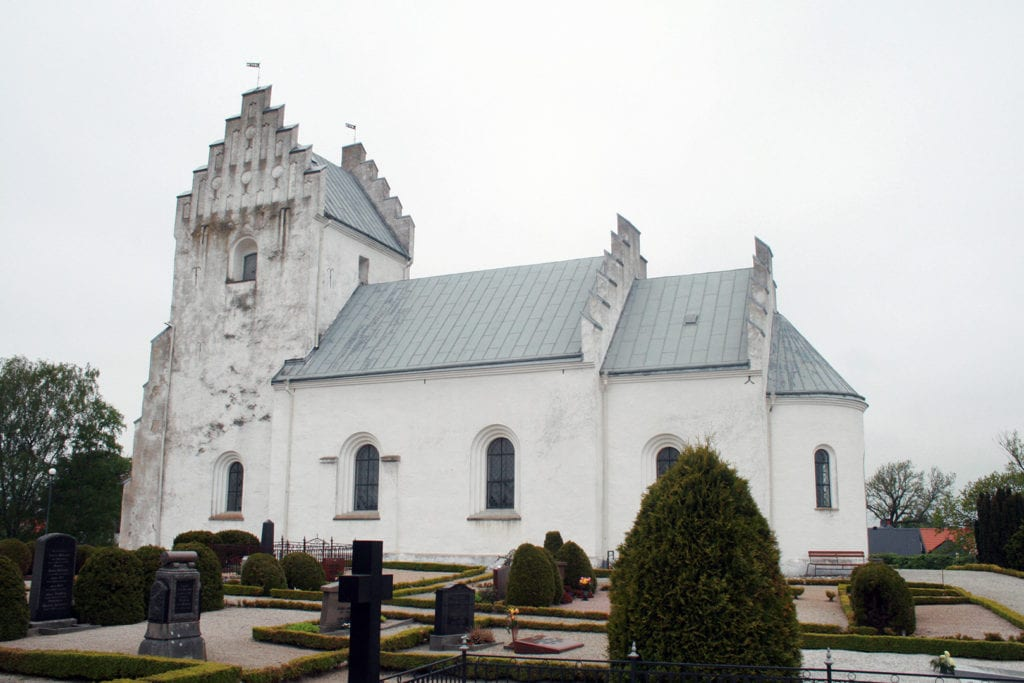 Järrestad's church in Österlen