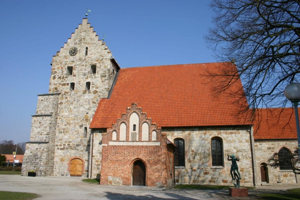 Saint Nicolai church Simrishamn