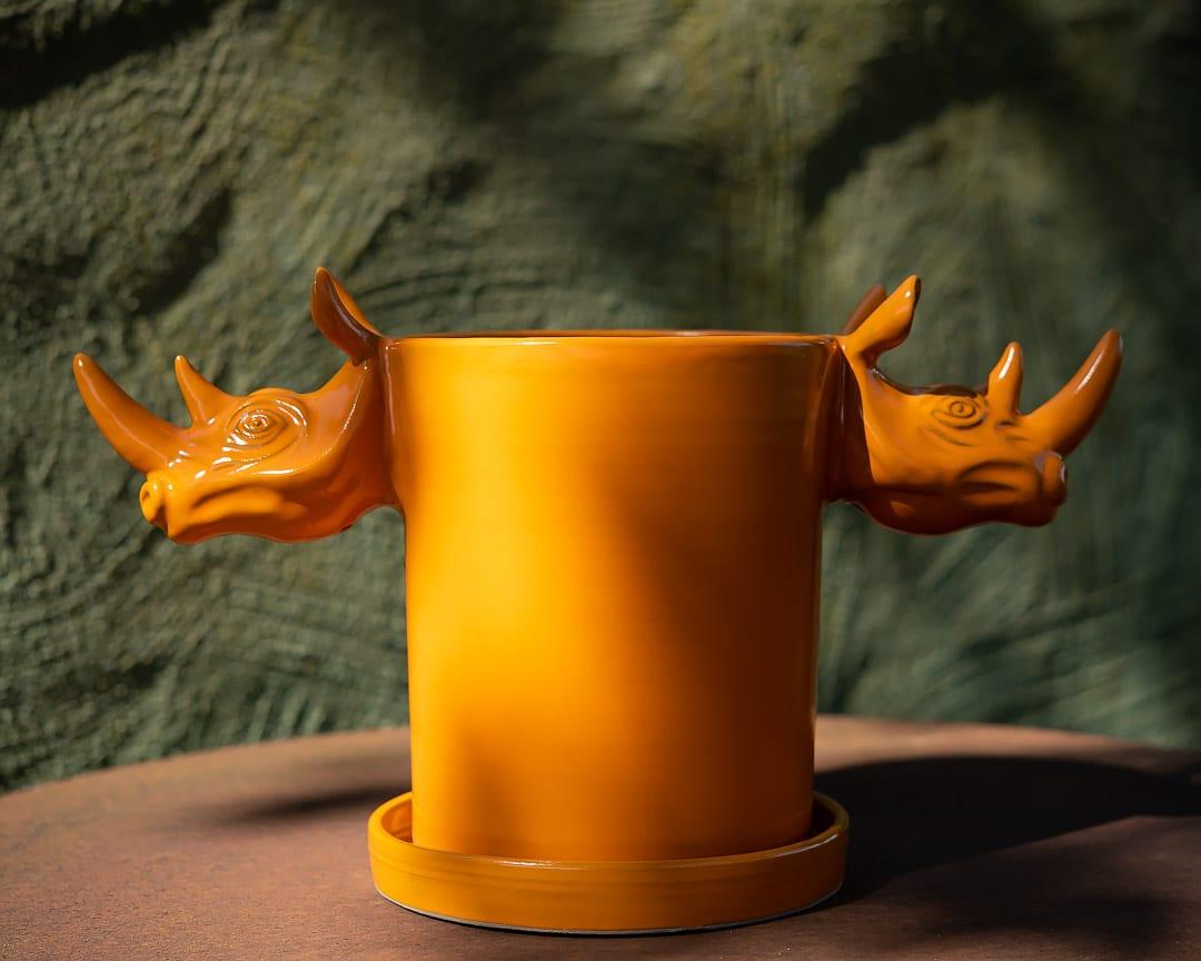Cylinder jar by Elna-Karin Helgesson