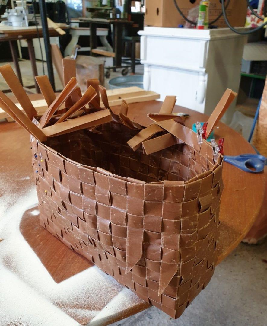 March 14, 2020 Österlen's museum Weave baskets österlen.se