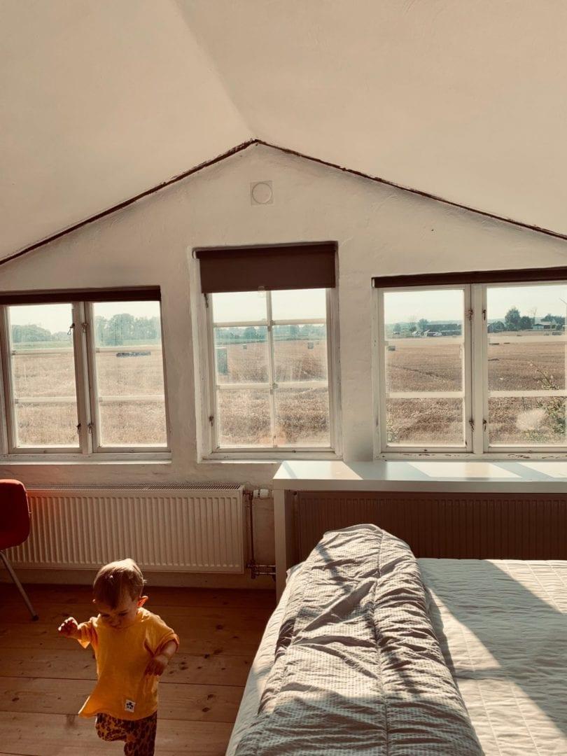 Accommodation Gamlegård Österlen bedroom