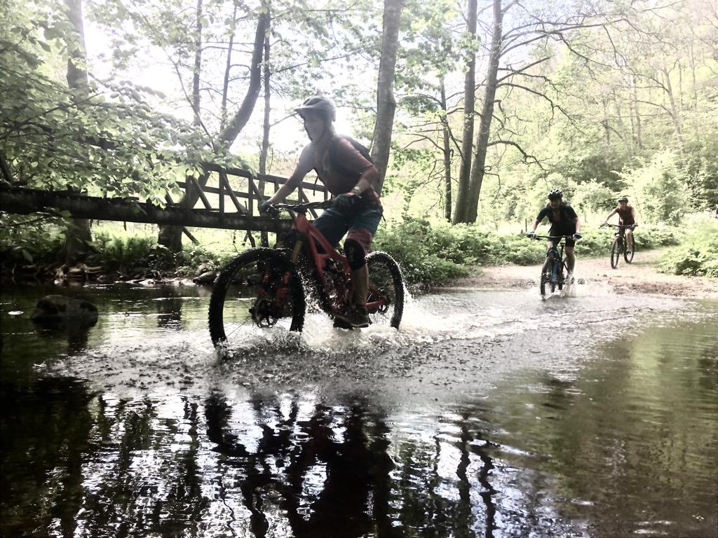 Mountainbike med guide helena på Österlen – stf brantevik