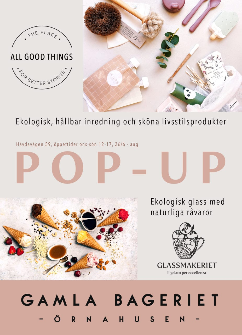 All Good Things pop-up