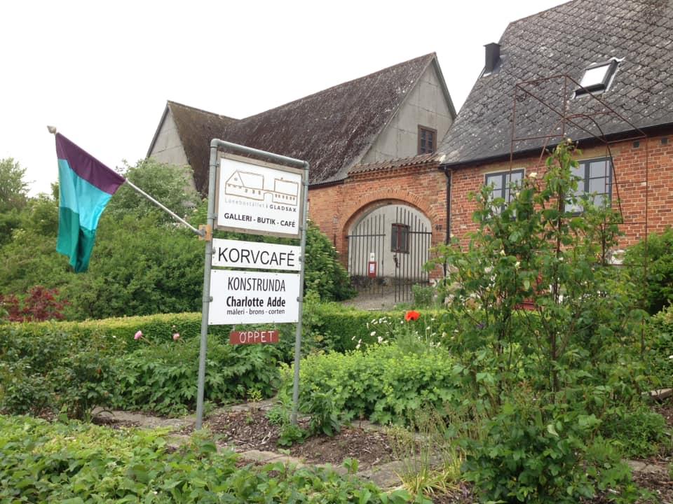 Löneboställets sausage café in Gladsax on Österlen