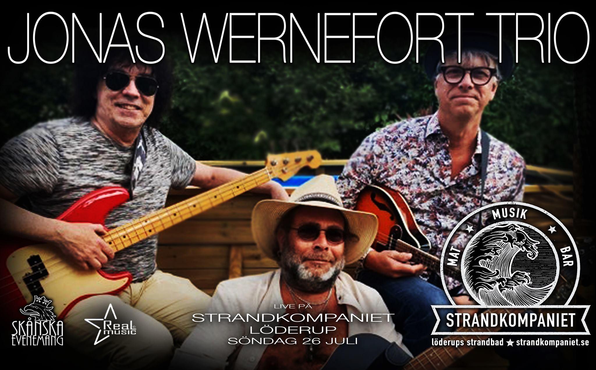 Jonas Wernefort Trio pa Strandkompaniet österlen.se