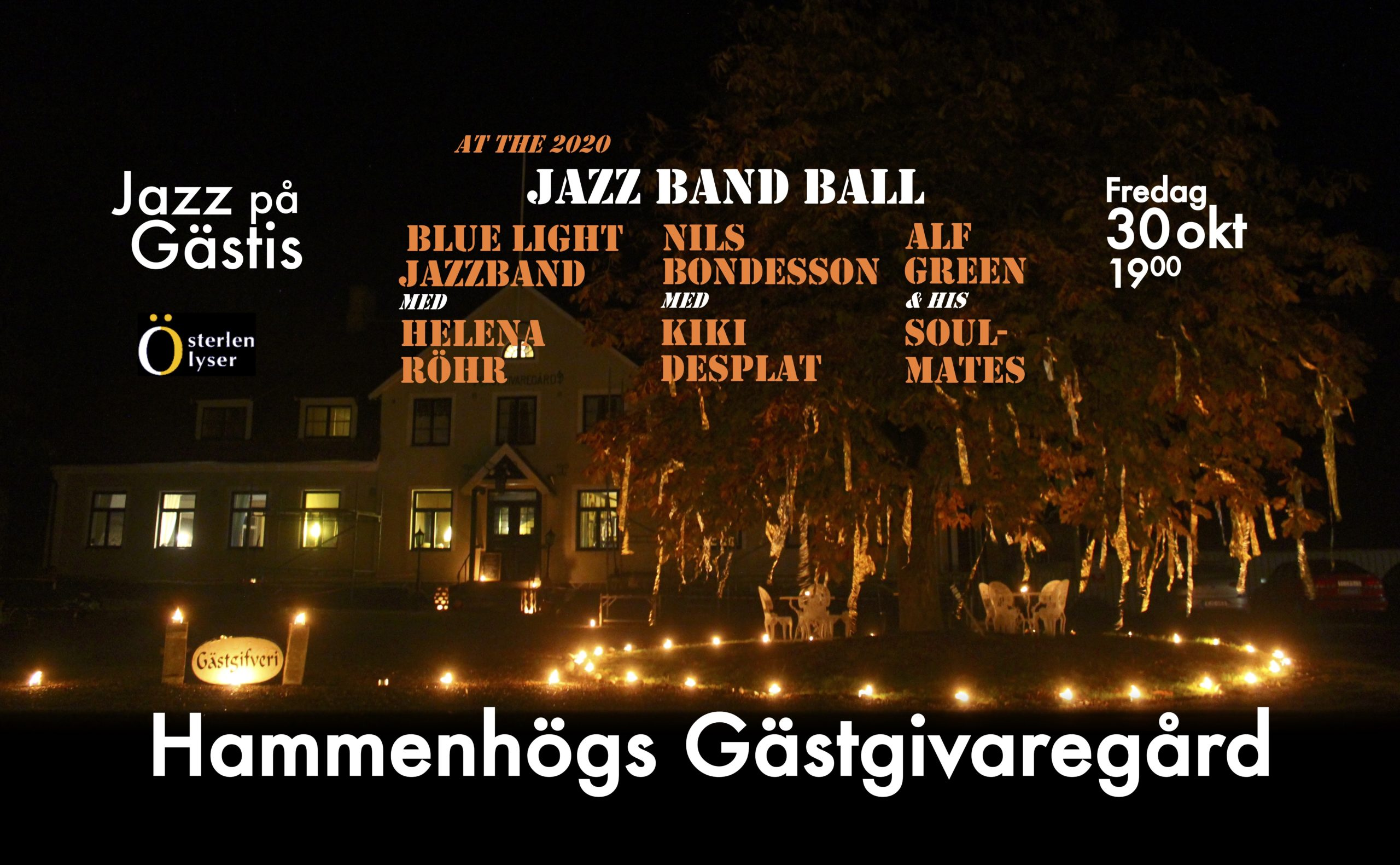 Jazz at the guest house - jazz band ball 2020