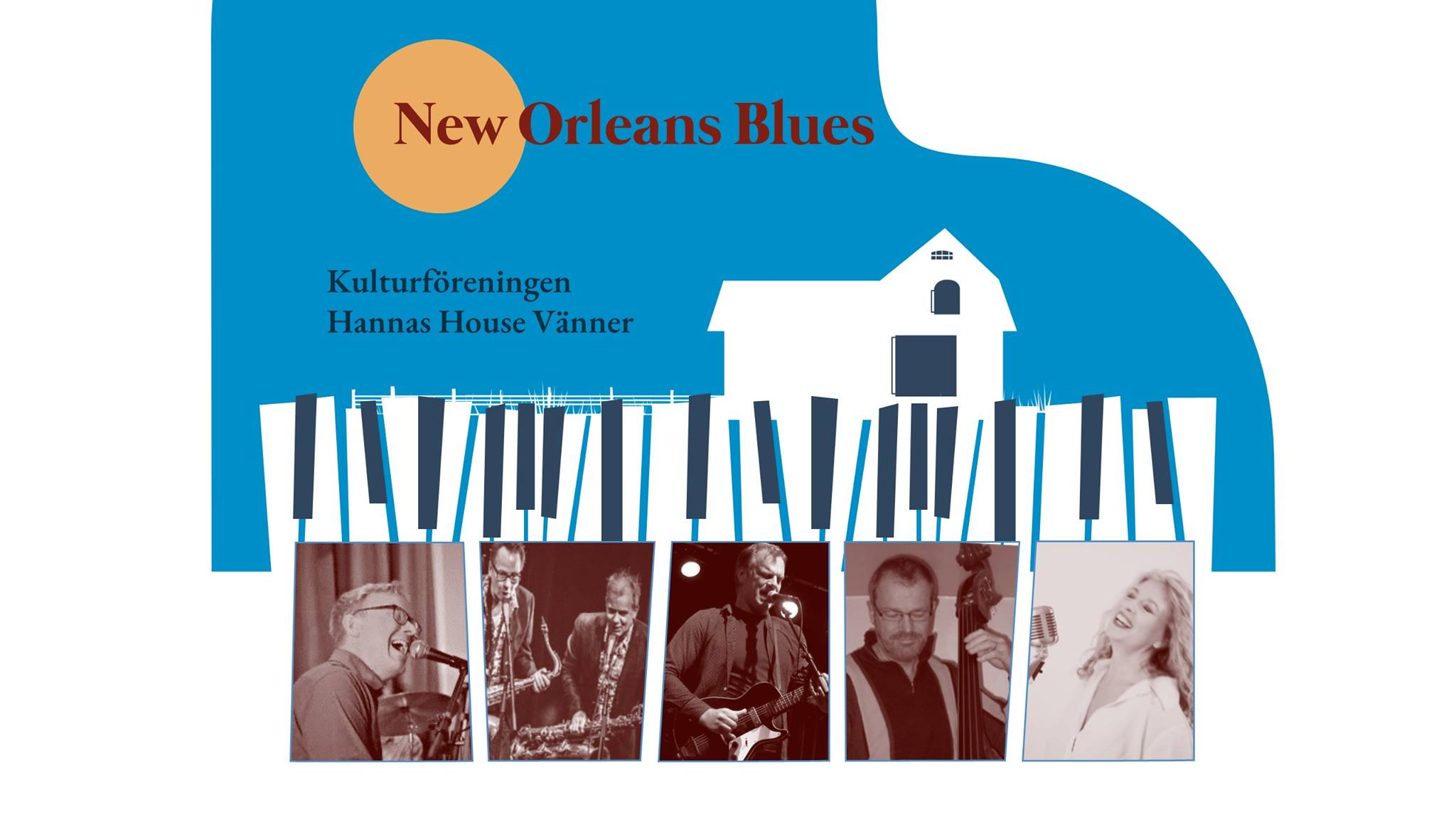 New orleans blues - Österlen is lit.