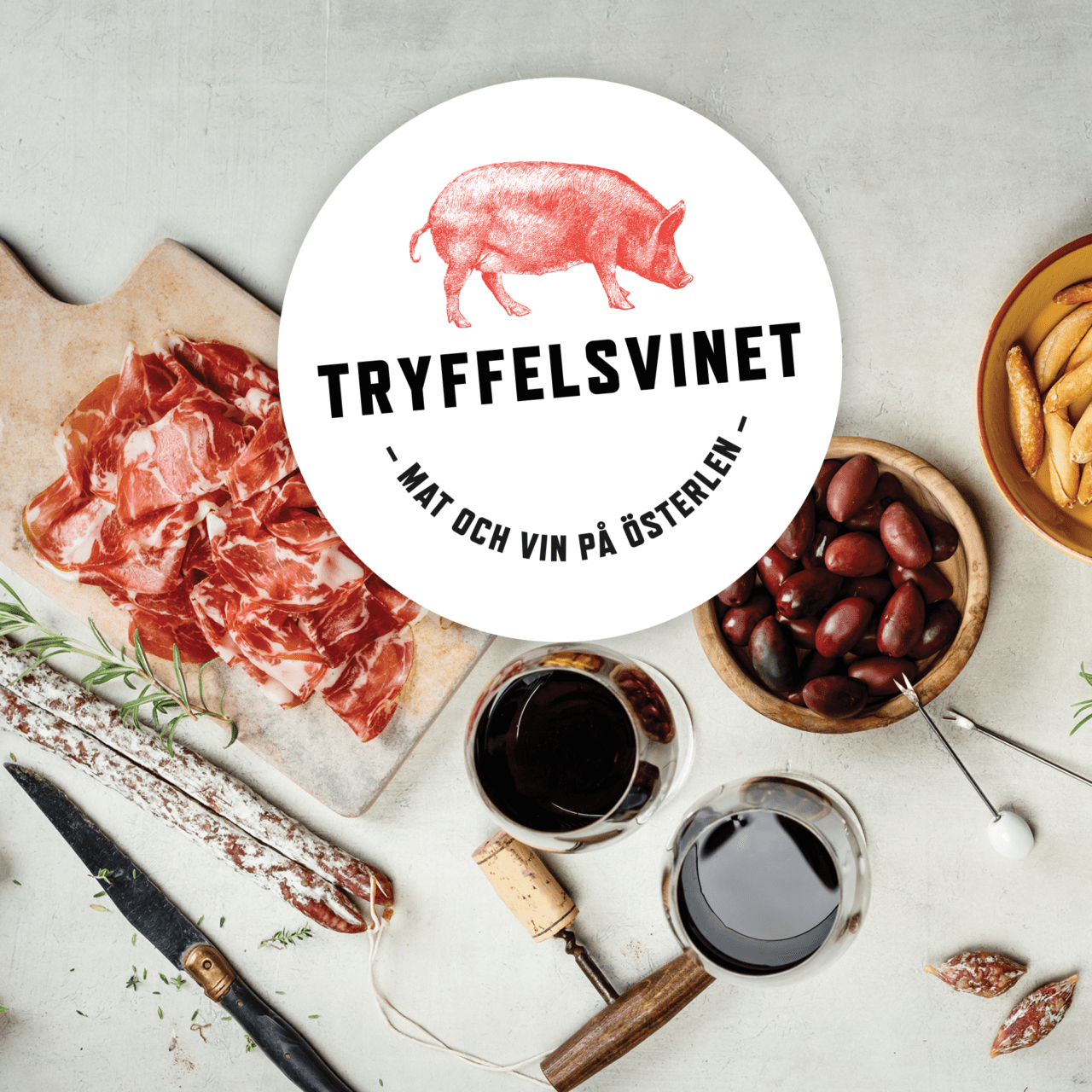 The truffle pig on kivik