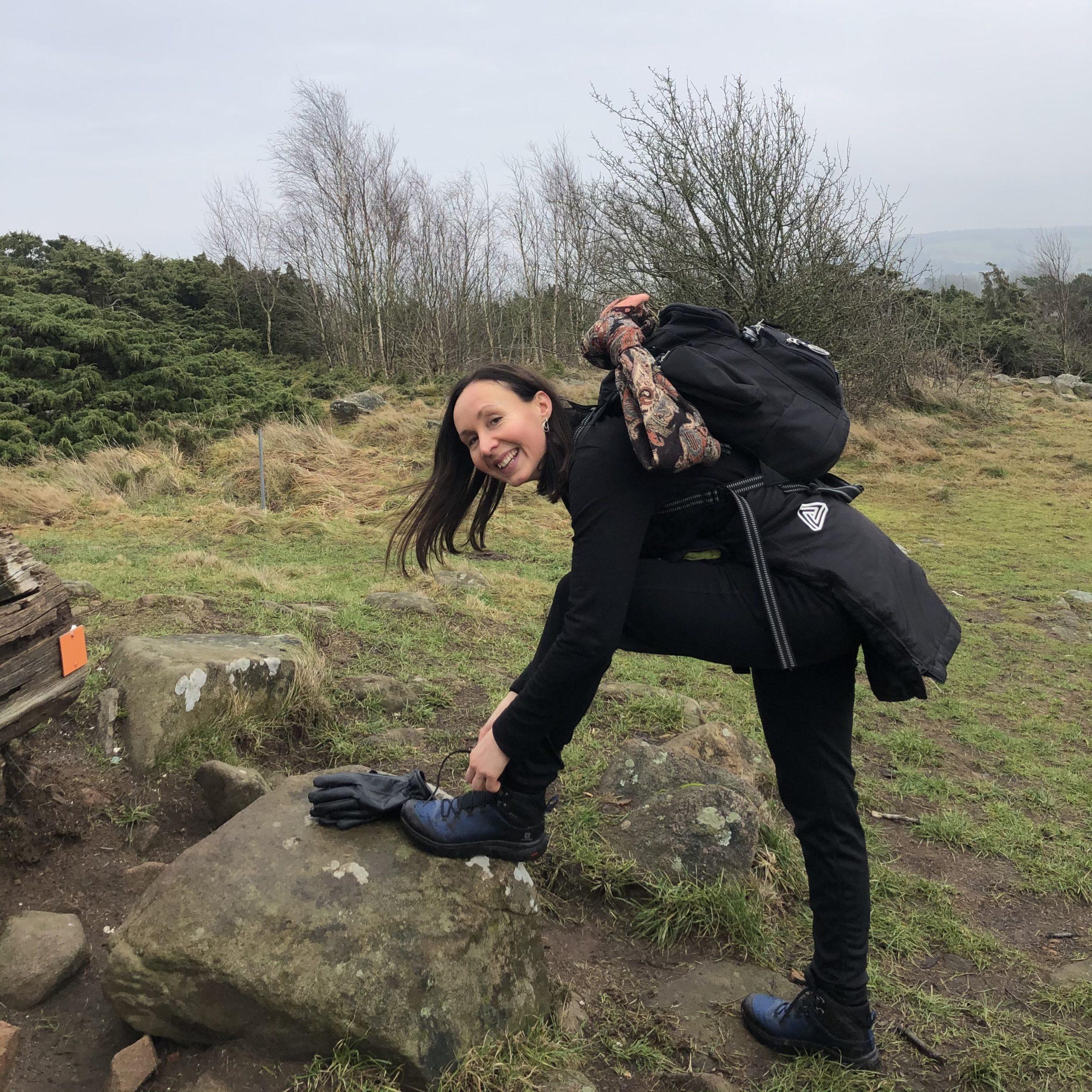 Hiking on Österlen 19 May