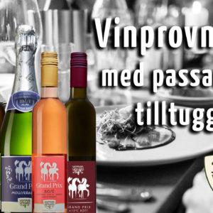 wine tasting with suitable snacks österlen.se