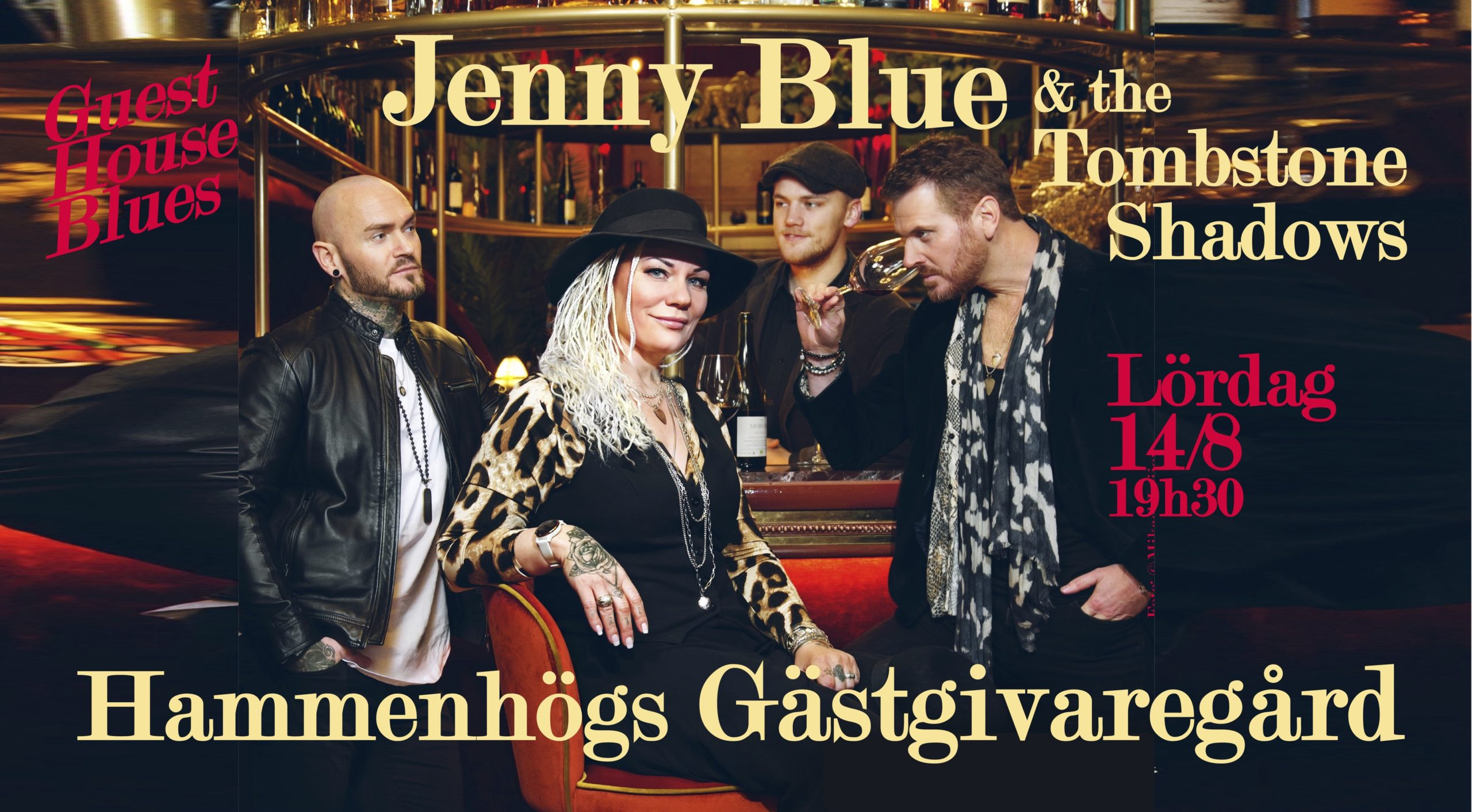 Guest house blues - jenny blue & the tombstone shadows