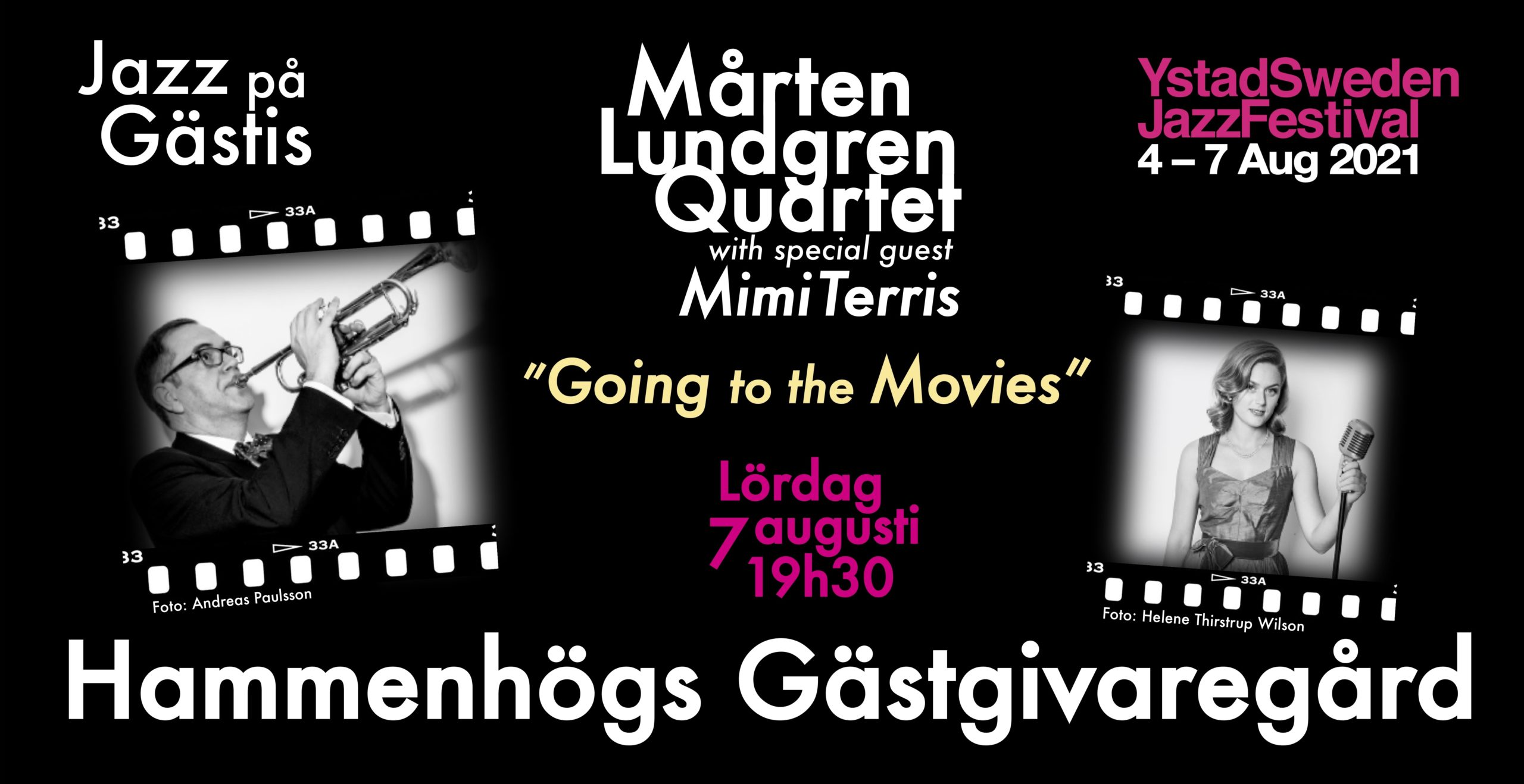 Jazz på gästis – going to the movies