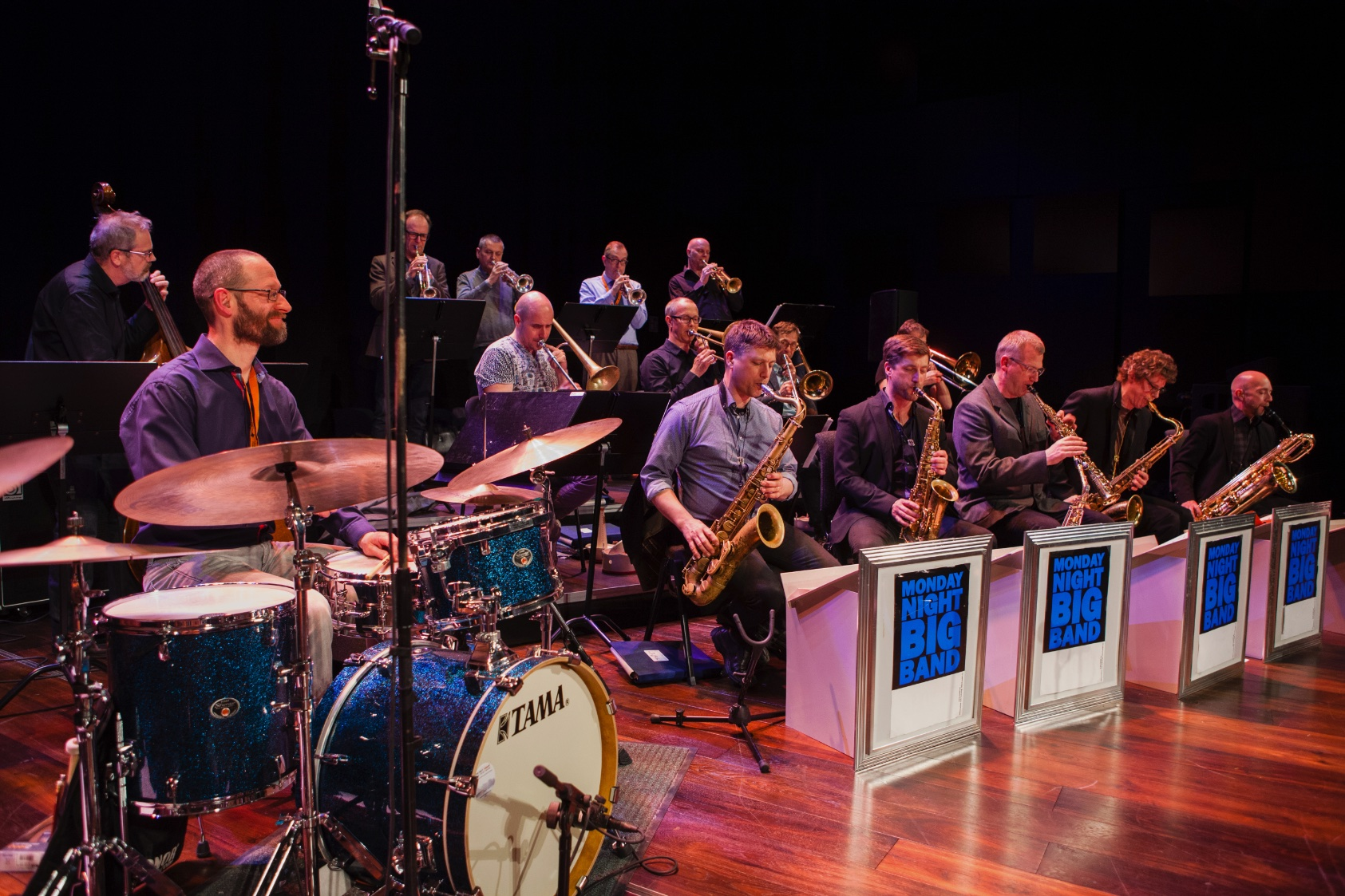 Monday night big band with viktoria tolstoy - solhällan