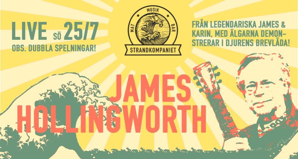 James hollingworth – strandkompaniet