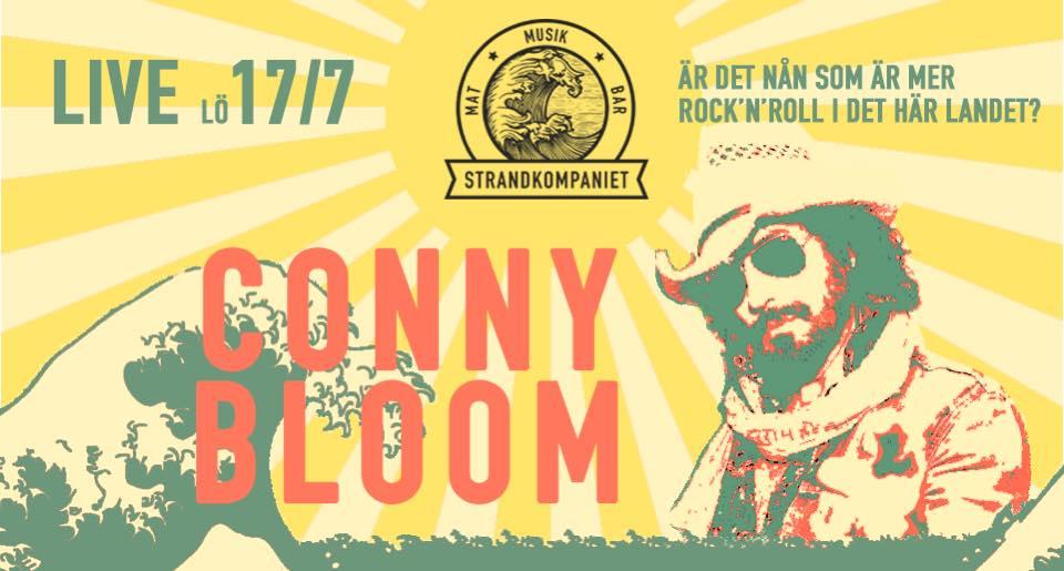 Conny Bloom @ Strandkompaniet