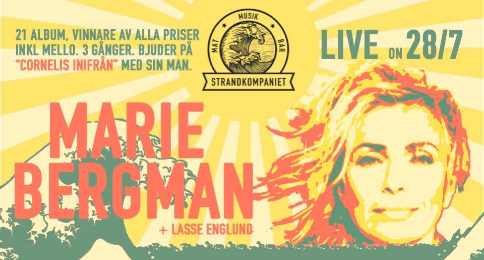 Marie Bergman Lasse Englund @ Strandkompaniet