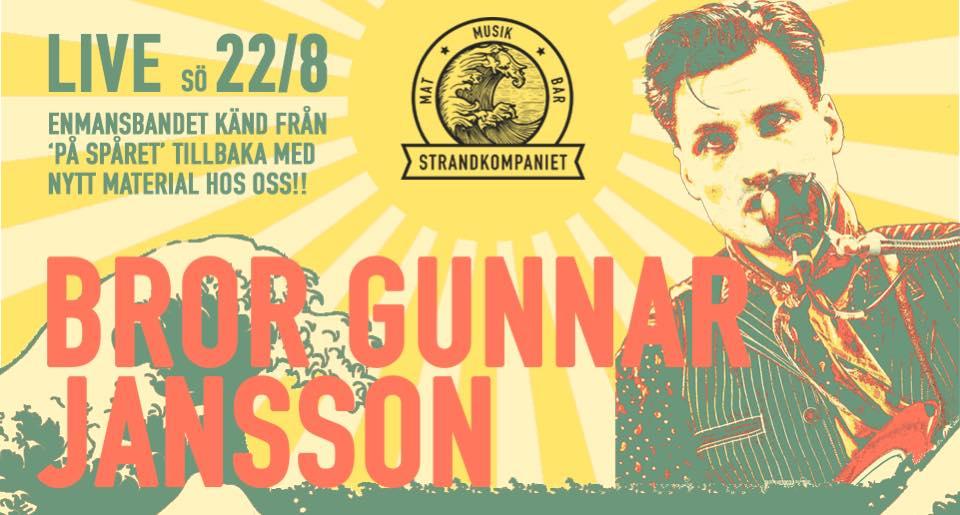 Brother Gunnar Jansson @ Strandkompaniet