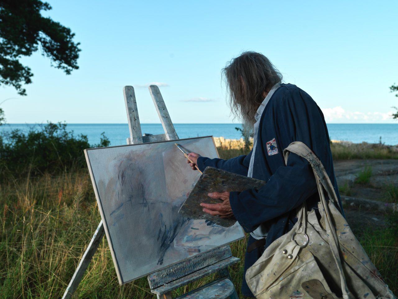 Österlen art will be created before the September exhibition