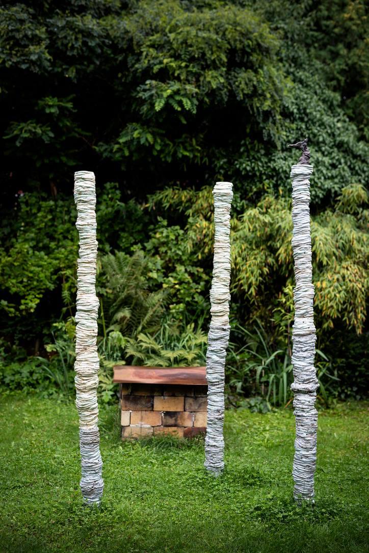 Skulpturpark Österlen pelare