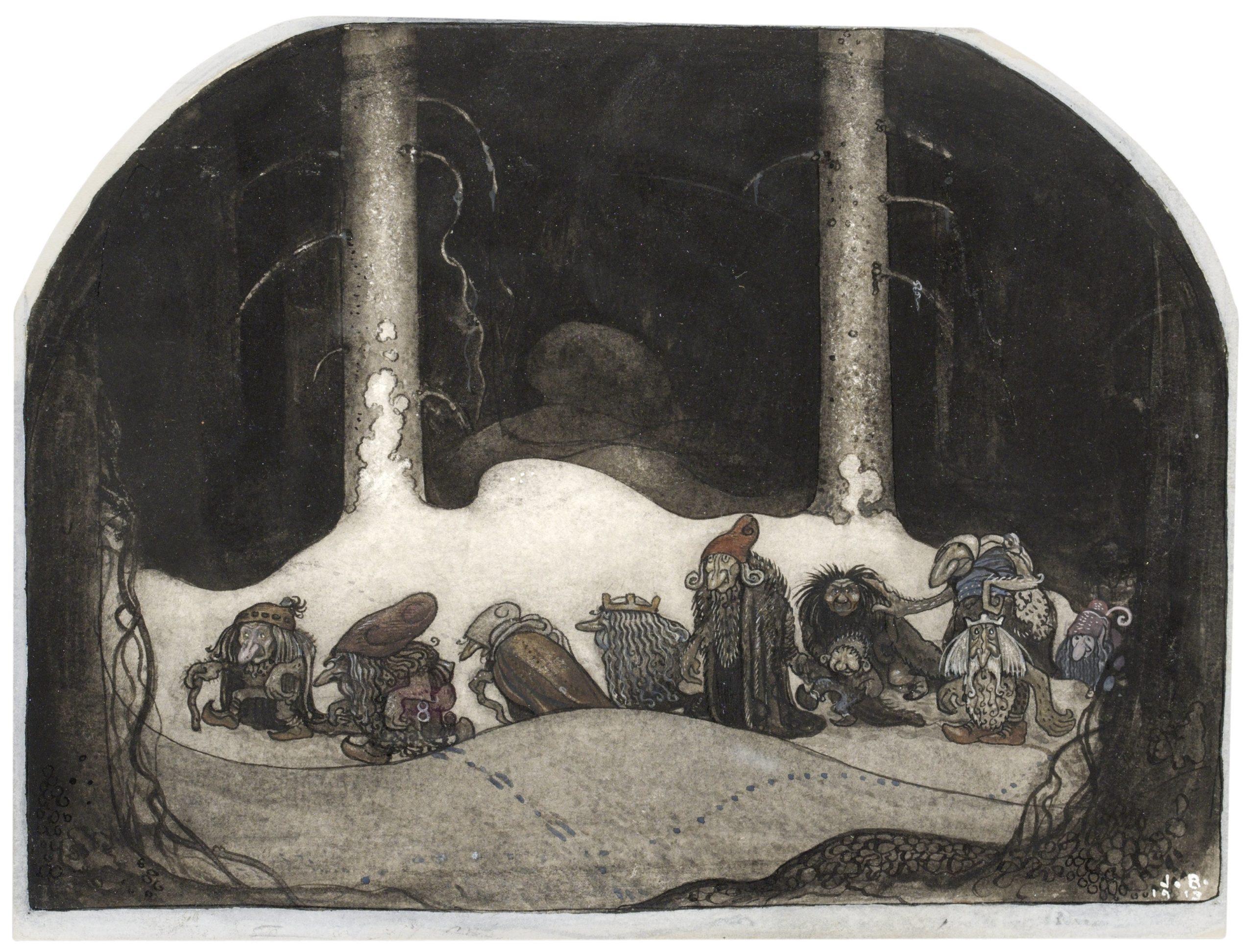 John Bauer I julnatten