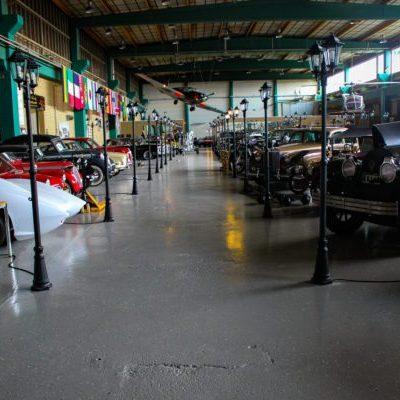 Autoseum i Simrishamn på Österlen