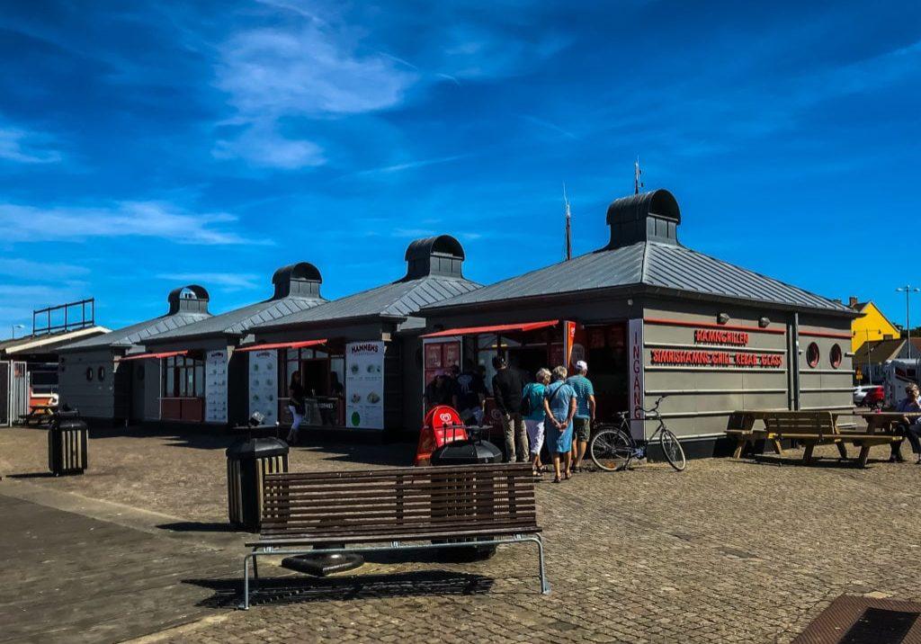 Hamnens grill & glassbar i Simrishamn