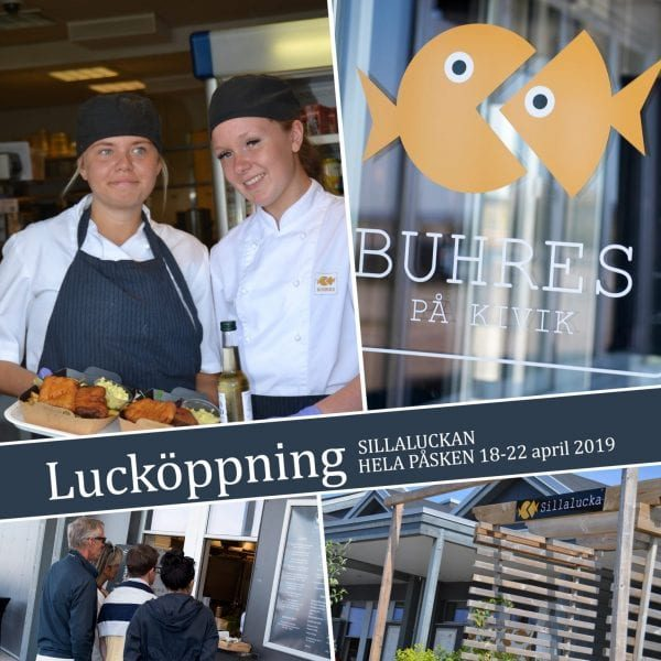Lucköppning - Buhres - 2019 - Sill