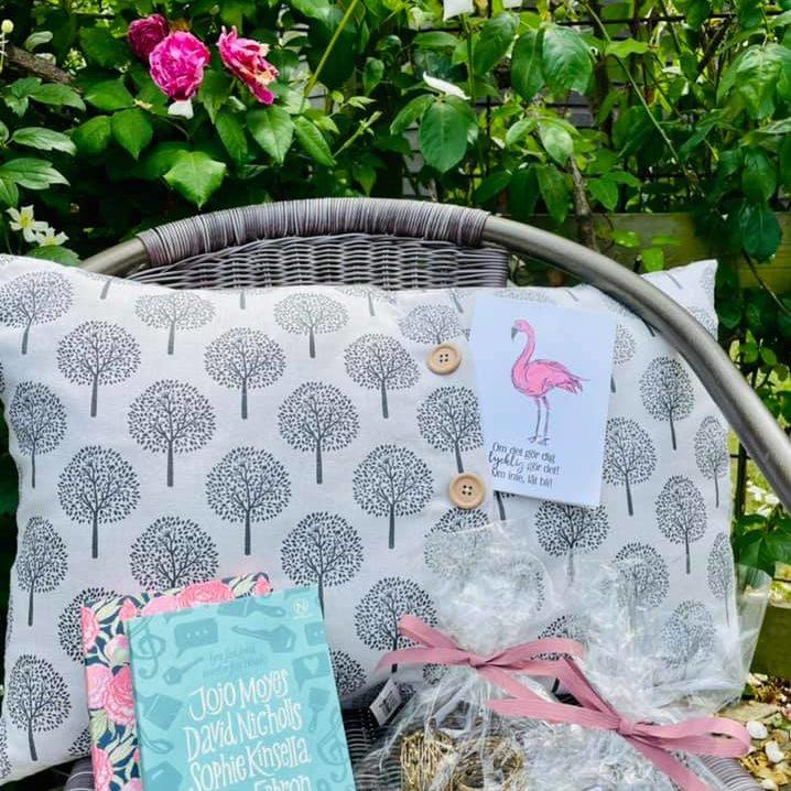 The gift basket at Österlen