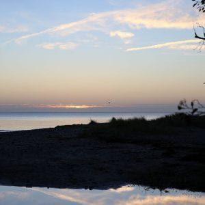 Sunrise over Haväng
